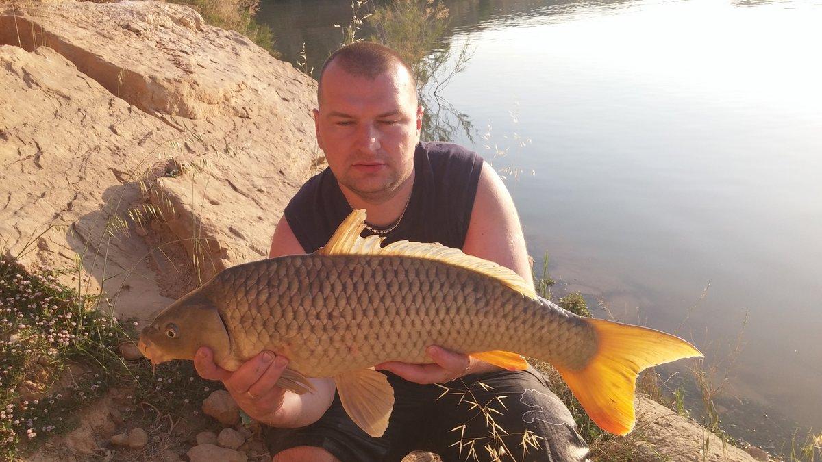 Hiszpański Karp - rzeka Ebro